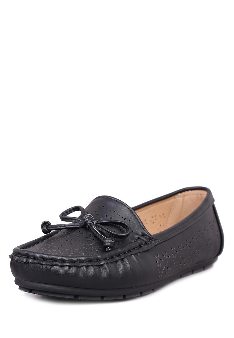 Мокасины женские SY19SS-005: цвет черный, 999 ₽, артикул № 00306170  | Интернет-магазин kari