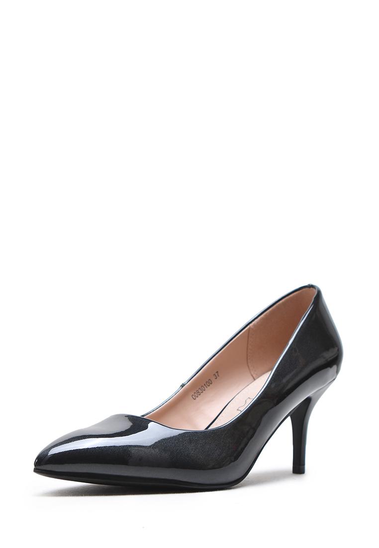 Туфли женские K0001-1C: цвет черный, 599 ₽, артикул № 00830100  | Интернет-магазин Kari