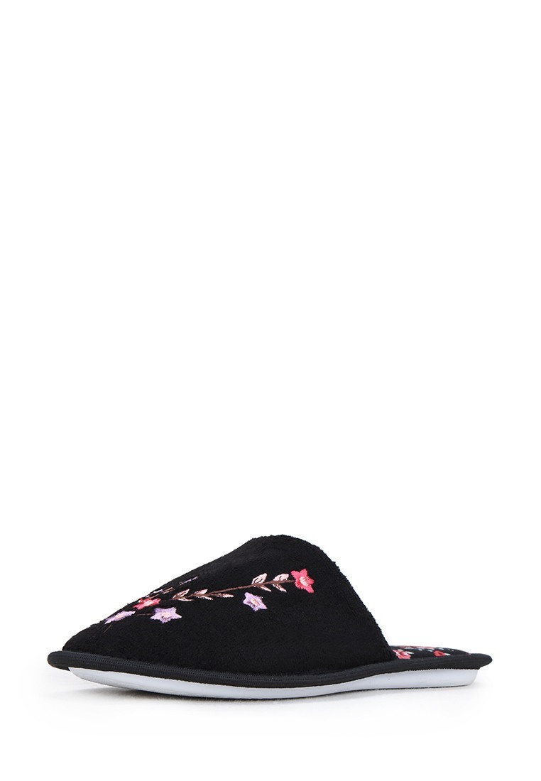 Тапочки женские CJI17AW-12: цвет черный, 199 ₽, артикул № 01130130  | Интернет-магазин kari