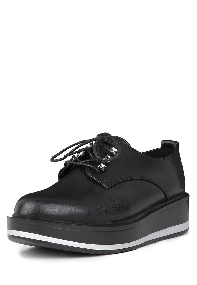 Полуботинки женские K0265LC-5: цвет черный, 1699 ₽, артикул № 02308190  | Интернет-магазин kari