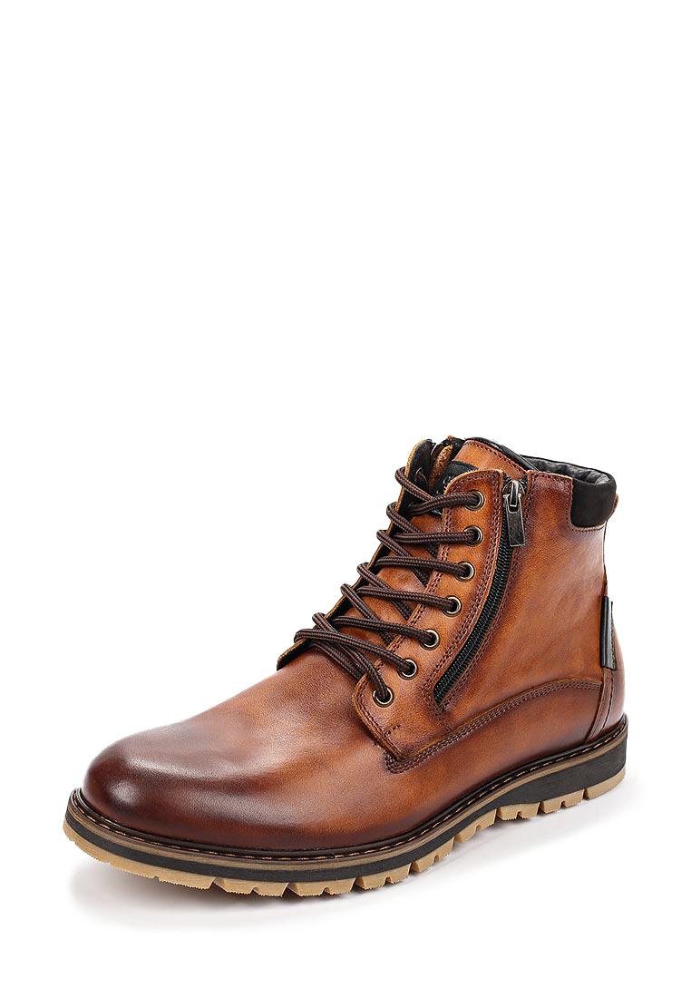 Ботинки мужские демисезонные 014-8: цвет коричневый, 4499 ₽, артикул № 26007530  | Интернет-магазин kari