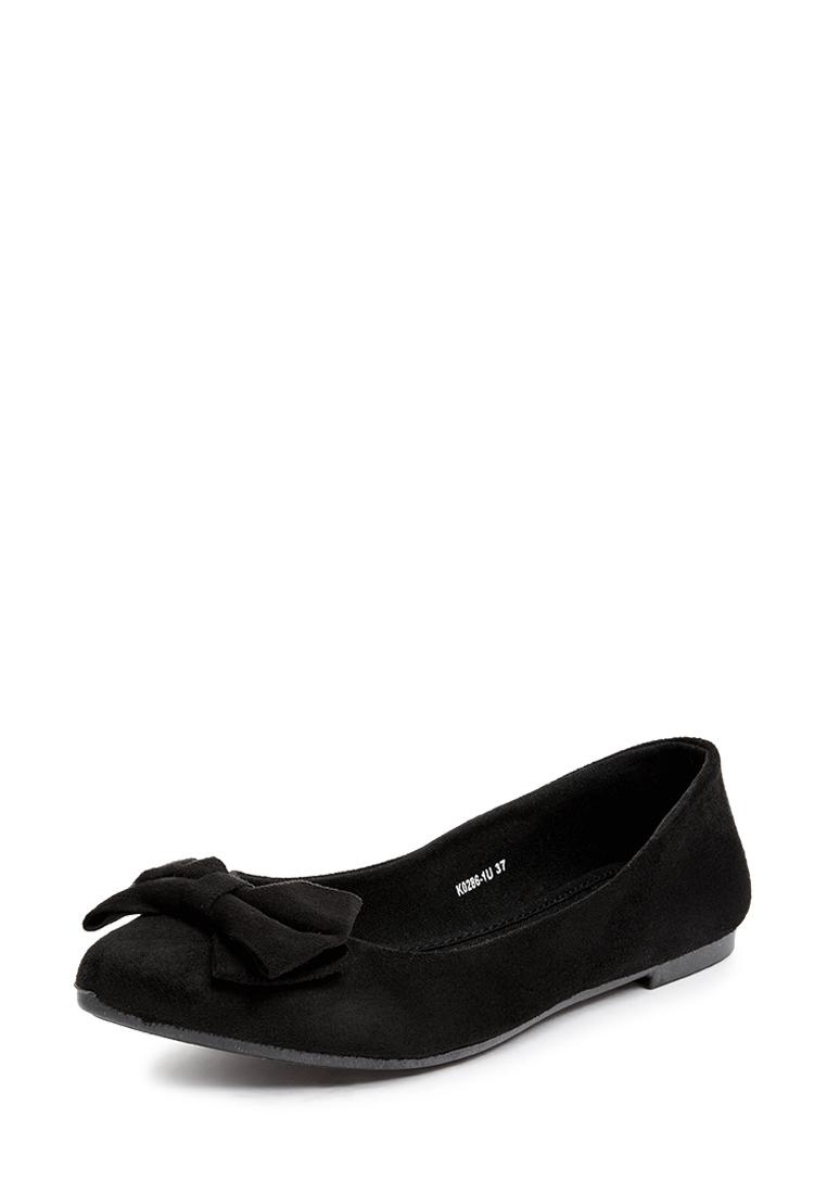 Балетки женские всесезонные K0286-1R: цвет черный, 399 ₽, артикул № 28404310  | Интернет-магазин Kari