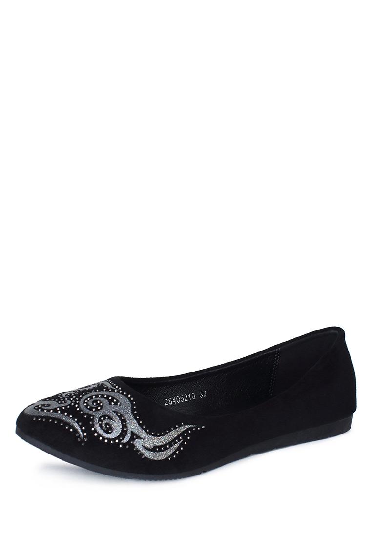Балетки женские всесезонные ZS18AS-7: цвет черный, 599 ₽, артикул № 28405210  | Интернет-магазин Kari