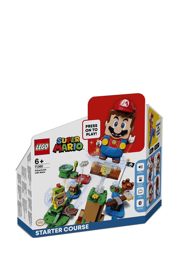 Super Mario Приключения вместе с Марио. Стартовый набор 71360: цвет Цвет, 3499 ₽, артикул № 36208160  | Интернет-магазин kari