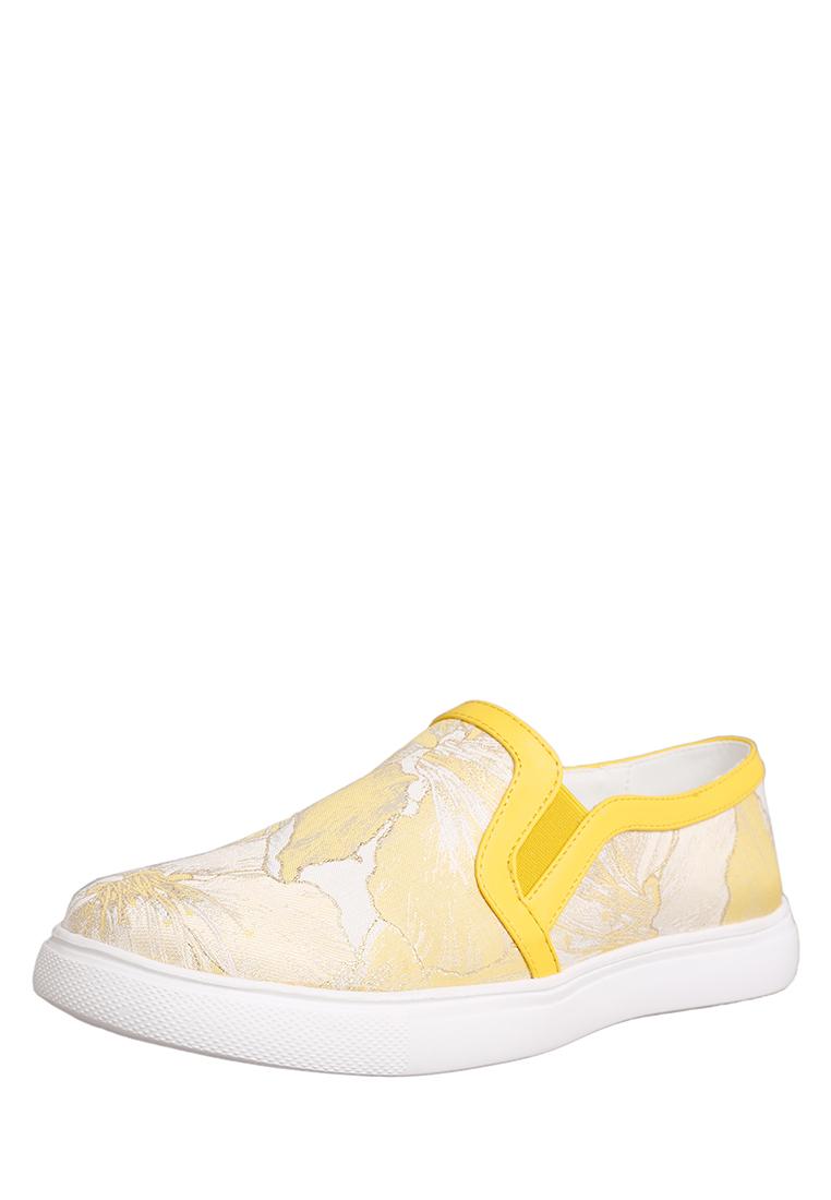 Слипоны женские K0051-11E: цвет желтый, 399 ₽, артикул № 91404420  | Интернет-магазин Kari