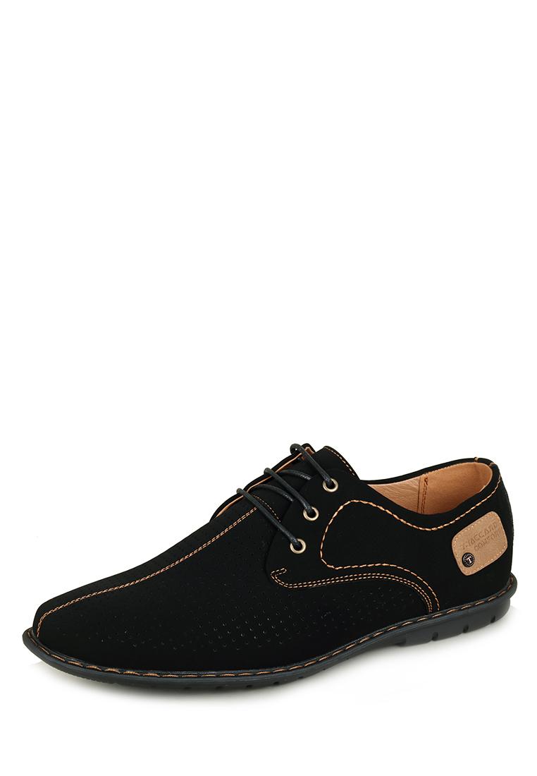 Полуботинки летние мужские K5172LC-2D: цвет черный, 999 ₽, артикул № M6158030    Интернет-магазин Kari