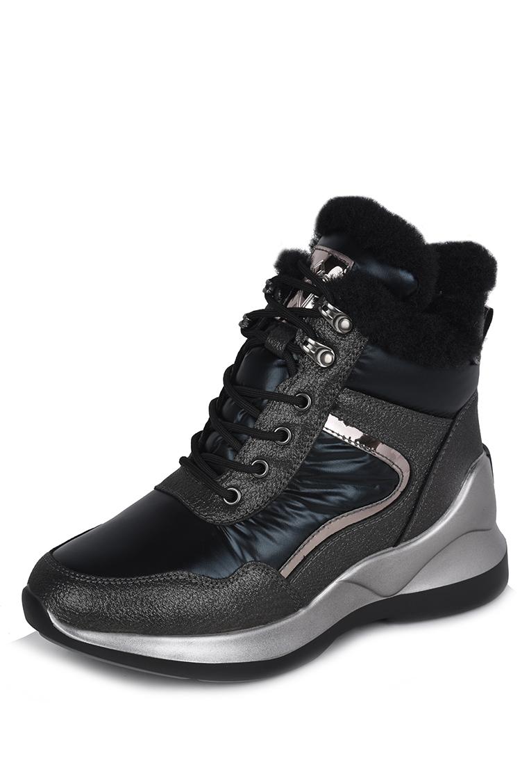 Ботинки женские зимние SN20AW-26: цвет черный, 3599 ₽, артикул № W8259048  | Интернет-магазин kari