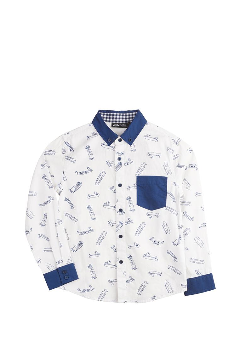 Рубашка длинный рукав детская для мальчиков
