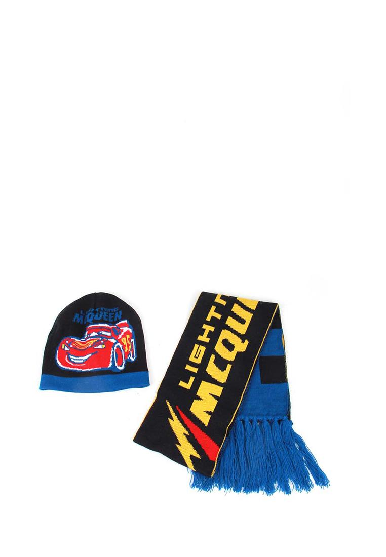 Набор шапка и шарф детский для мальчиков с размером