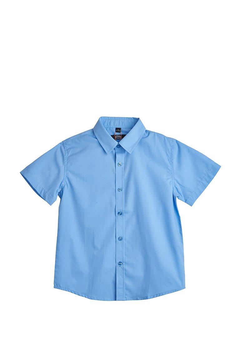 Рубашка с коротким рукавом школьная для мальчиков