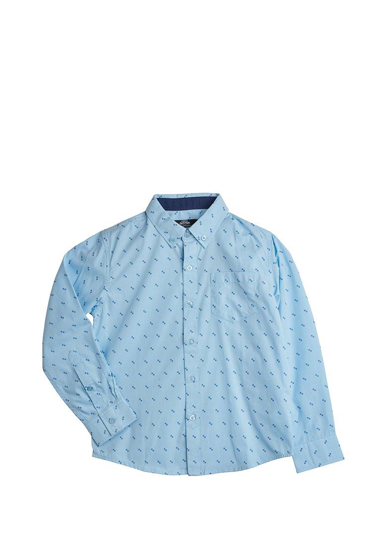 Рубашка с длинным рукавом школьная для мальчиков