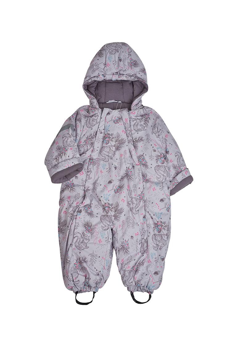 Комбинезон для новорожденных зимний для девочек