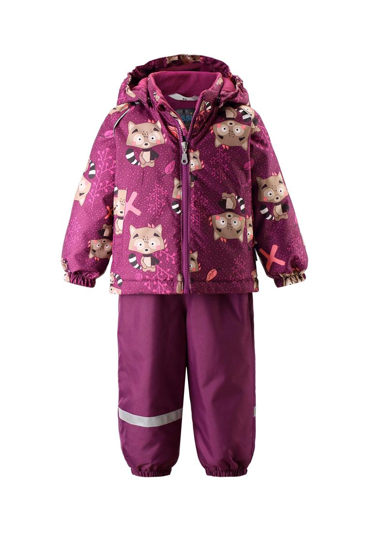 Комплект зимней одежды для маленькой девочки